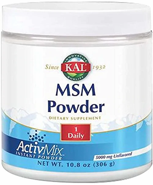 KAL MSM Powder 1 Daily 5,000 mg  306 g