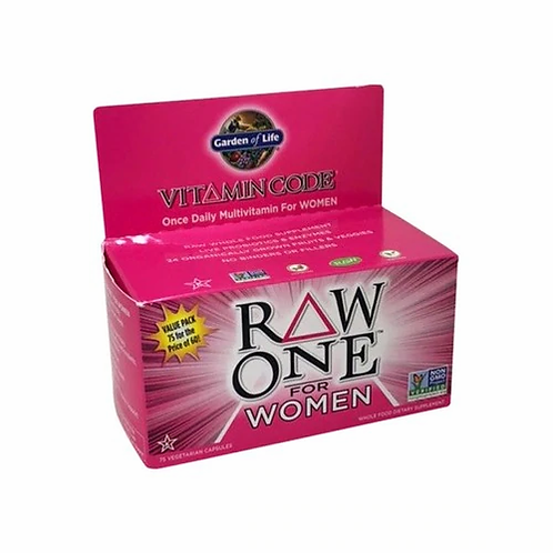 Garden of Life RAW One for Women  75 caps