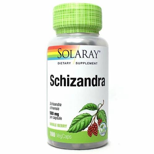 Solaray Schizandra 580 mg  100 caps