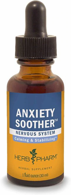 Herb Pharm Anxiety Soother  30 ml