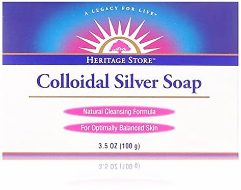 Heritage Store Colloidal Silver Soap  100 g