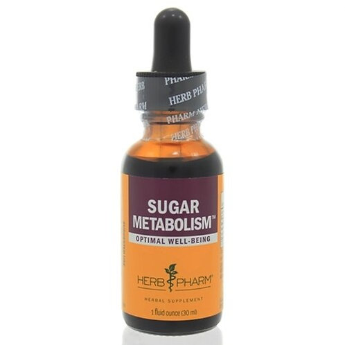Herb Pharm Sugar Metabolism  30 ml