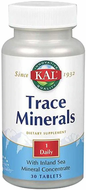 KAL Trace Minerals 1 Daily  30 tabs