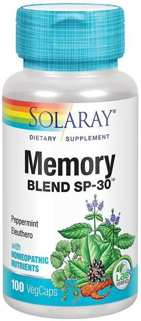 Solaray Memory Blend SP-30 100 caps