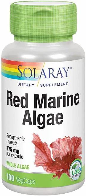 Solaray Red Marine Algae 375 mg  100 caps