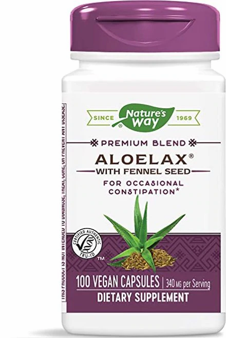Nature's Way Aloelax  100 caps