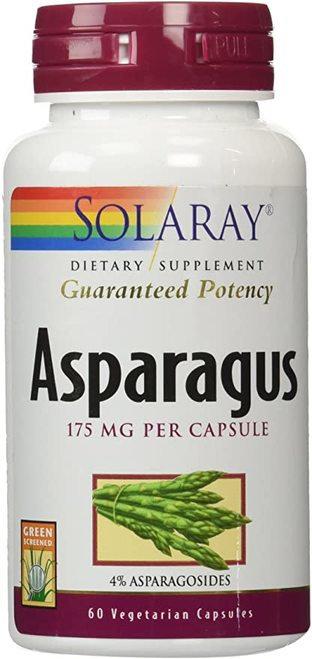 Solaray Asparagus 175 mg  60 caps