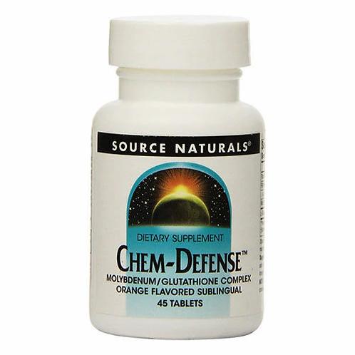 Source Naturals Chem-Defense Orange  45 lozenges