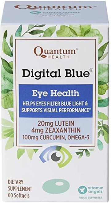 Quantum Health Digital Blue Eye Health  60 softgels