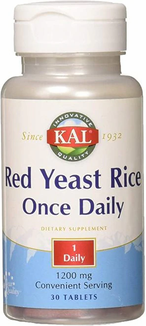 KAL Red Yeast Rice Once Daily 1200 mg  30 tabs