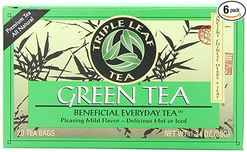 Triple Leaf Tea Green Tea  20 bags