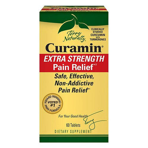 Terry Naturally Curamin Extra Strength Pain Relief 60 tabs