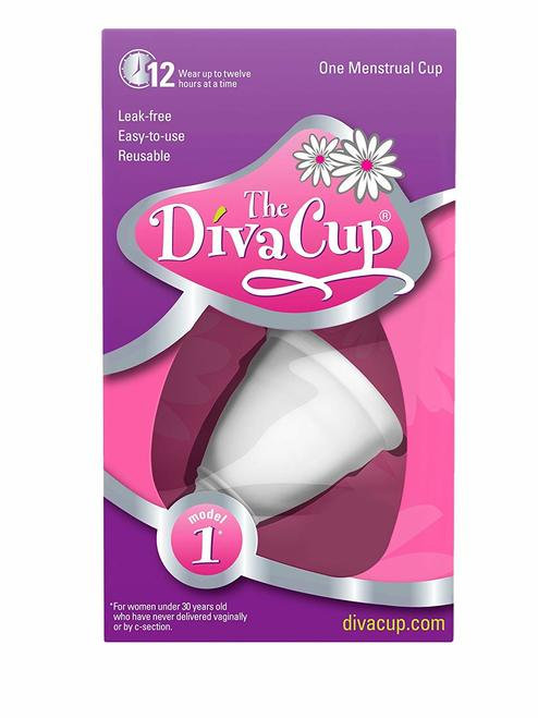 The Diva Cup Menstrual Cup Model 1        1 ct