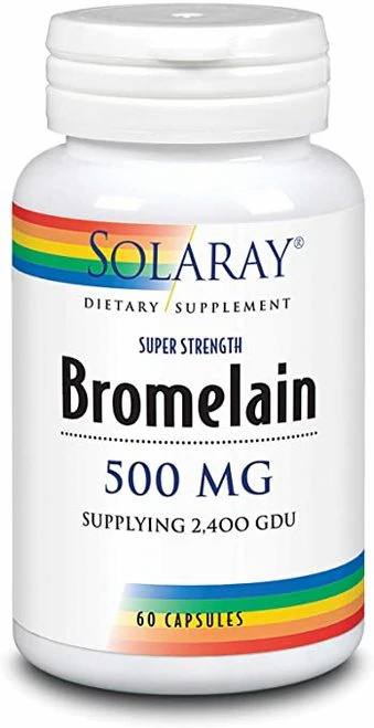 Solaray Bromelain Super Strength 500 mg  60 caps