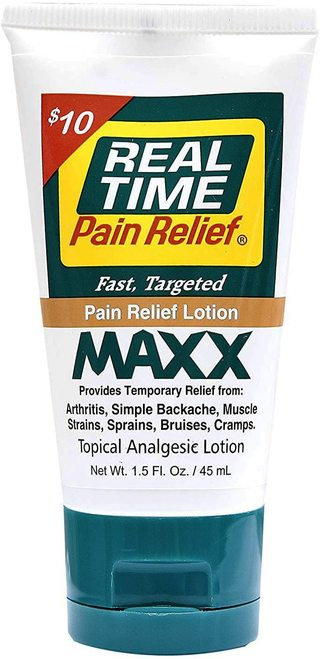 Real Time MAXX Pain Relief Lotion  45 ml