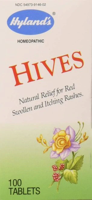 Hyland's Hives  100 tabs