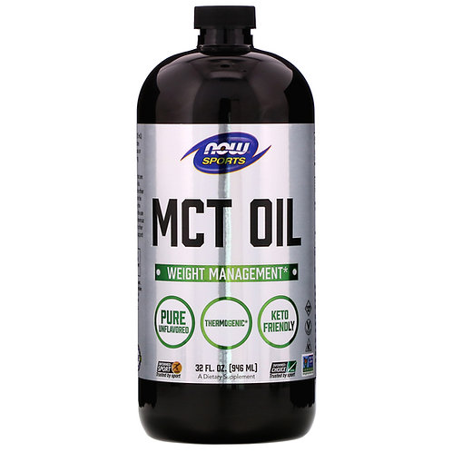 NOW Sports MCT Oil Weight Management  946 ml