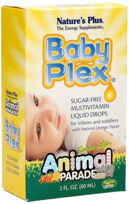 NaturesPlus Baby Plex Multivitamin Liquid Orange  60 ml