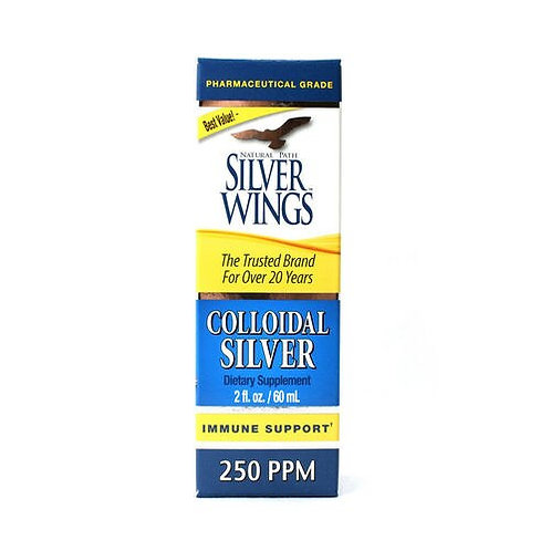 Natural Path Silver Wings Colloidal Silver 250 PPM  60 ml