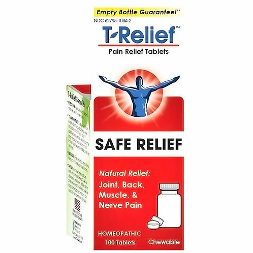 NaturalCare T-Relief Chewable  100 tabs