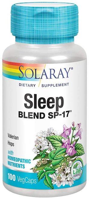 Solaray Sleep Blend SP-17 100 caps
