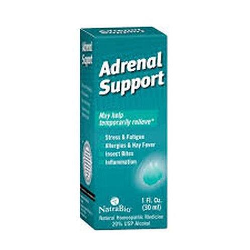 NatraBio Adrenal Support Drops  30 ml