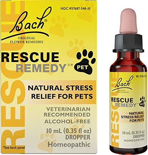 Bach Rescue Remedy for Pets Dropper  10 ml