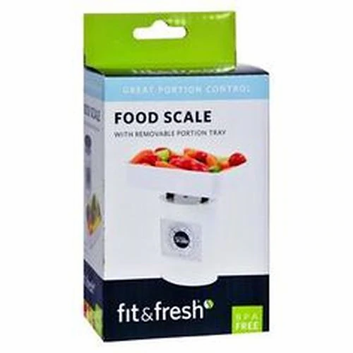 Fit & Fresh Food Scale with Portion Tray  1 ct