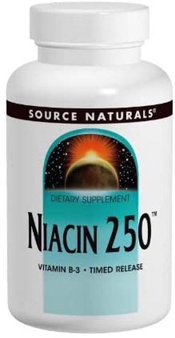Source Naturals Niacin 250  100 tabs