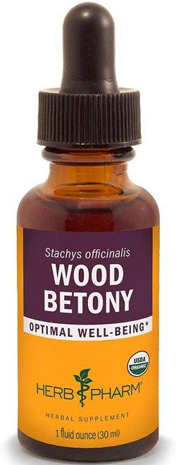 Herb Pharm Wood Betony  30 ml