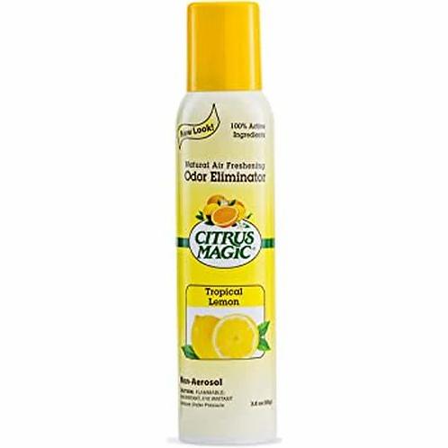 Citrus Magic Odor Eliminator Spray Tropical Lemon  85 g
