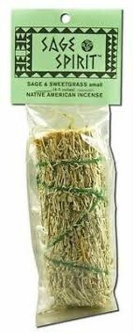 Sage Spirit Natve American Incense Sage & Sweetgrass  1 ct