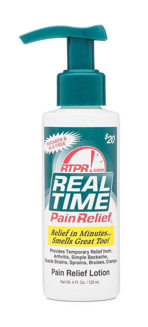 Real Time Pain Relief Lotion Pump  120 ml