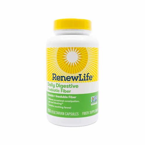 RenewLife Daily Digestive Prebiotic Fiber  150 caps