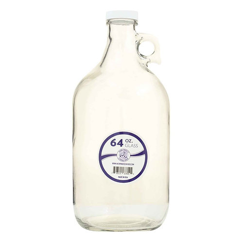 Enviro Products 64 oz. Glass Bottle   1 ct