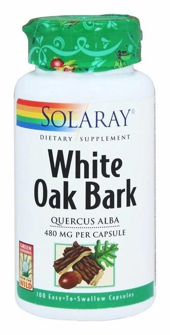 Solaray White Oak Bark 480 mg  100 caps
