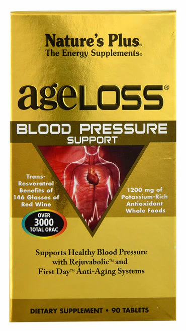 NaturesPlus ageLOSS Blood Pressure Support  90 tabs