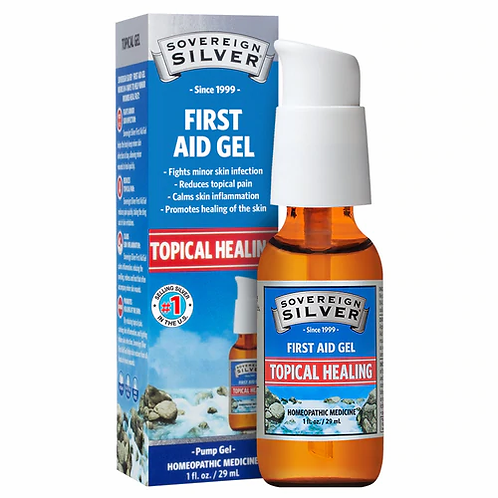 Sovereign Silver Topical Healing Pump Gel  29 ml