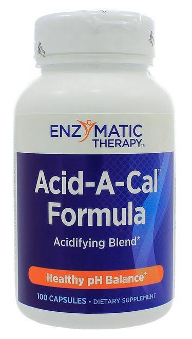 Enzymatic Therapy Acid-A-Cal Formula   100 caps