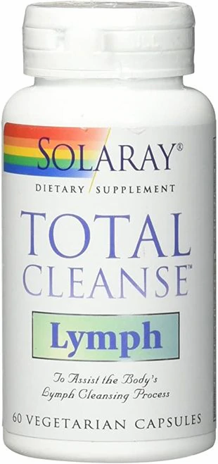 Solaray Total Cleanse Lymph  60 caps