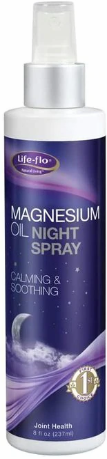 Life-flo Magnesium Oil Night Spray  237 ml