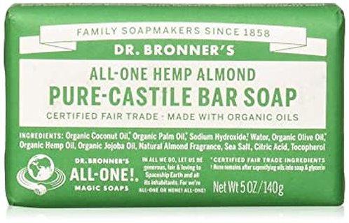 Dr. Bronner's Pure-Castile Bar Soap Almond  140 g