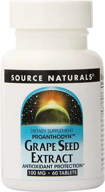 Source Naturals Grape Seed Extract  60 tabs