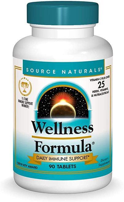 Source Naturals Wellness Formula  90 tabs