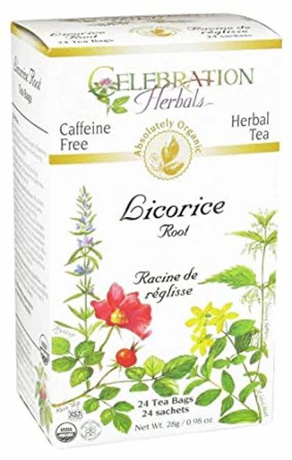 Celebration Organic Herbal Tea Licorice Root  24 bags