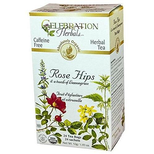 Celebration Organic Herbal Tea Rose Hips  24 bags