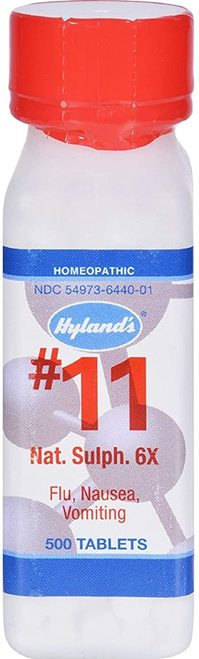 Hyland's Nat. Sulph. 6X  500 tabs