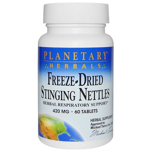 Planetary Herbals Freeze-Dried Stinging Nettles 420 mg  60 tabs