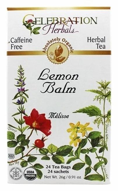 Celebration Organic Herbal Tea Lemon Balm  24 bags