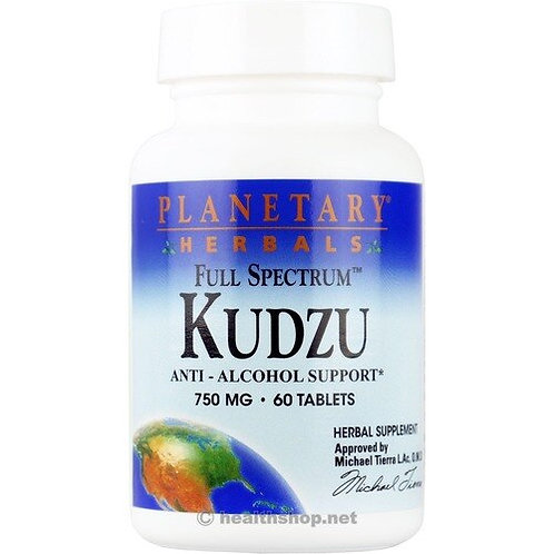 Planetary Herbals Kudzu Recovery 750 mg  60 tabs